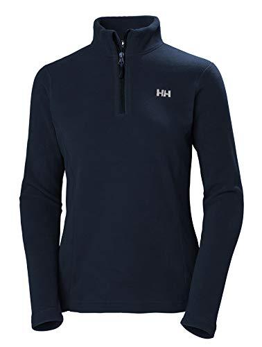 Helly Hansen Damen W Daybreaker 1/2 Zip Fleece Navy, XL 1/2 Zip Fleece-navy