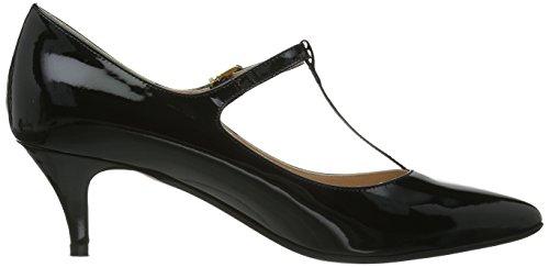 Evita Shoes, Scarpe col tacco con cinturino alla caviglia Donna Nero (Schwarz (Schwarz)