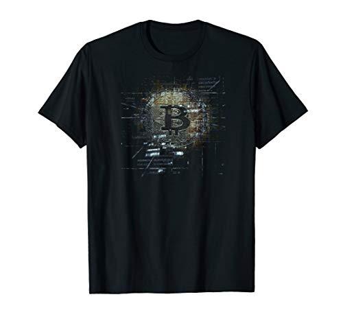 Bitcoin Münze BTC Crypto T-Shirt Krypto Shirt