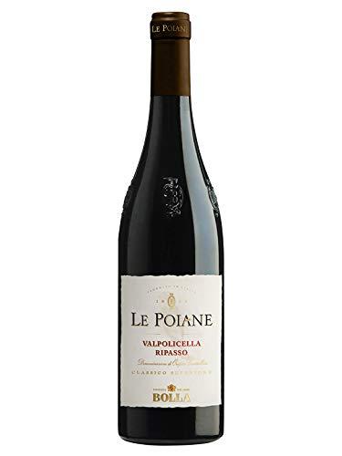 LE POIANE Valpolicella Ripasso DOC Classico Superiore - Bolla - Vino rosso fermo 2016 - Bottiglia 750 ml