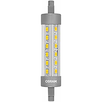 osram led star line r7s led tube r7s 9 w 75 w replacement clear warm white 2700 k 1pack. Black Bedroom Furniture Sets. Home Design Ideas