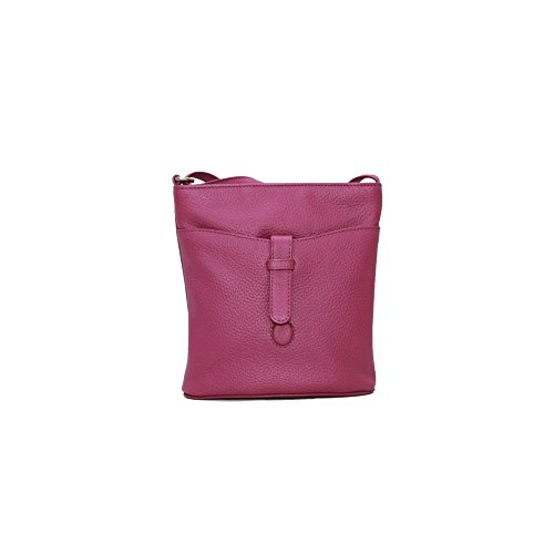 Eastern Counties Leather Damenhandtasche Faye Violett