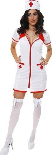 Sexy Krankenschwester-Kostüm - für Erwachsene/Damen