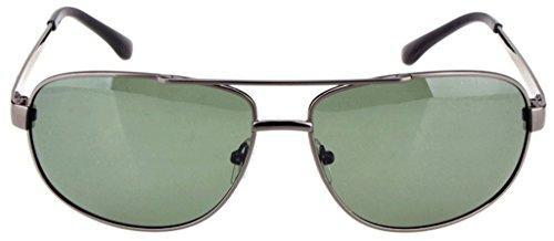 UV400 Polarizer Angeln Brille Fahren Polarisierte Sonnenbrillen-Grau