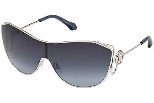 Roberto Cavalli Damen RC1061 16W 00 Sonnenbrille, Silber, 146