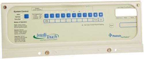 Pentair 520304i5+ 3S, i9+ 3S Systemsteuerung Lünette Ersatz IntelliTouch Pool und Spa Automatische Kontrolle Systeme (Kontrolle Lünette)