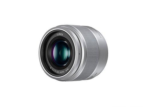 Panasonic Lumix G - Objetivo micro cuatro tercios (distancia focal de 25 mm, apertura de 1.7, SLR), color plata