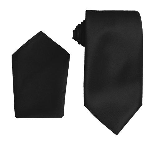 Great British Tie Club Satin Mariage Cravates avec Mouchoir (Diverses couleurs)