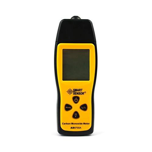 Kongqiabona Elektronische messgerät LCD Display Kohlenmonoxid Meter mit Hintergrundbeleuchtung Handheld CO Gas Tester Monitor Detektor Analyzer 0 ~ 1000 PPM CO Messgerät -