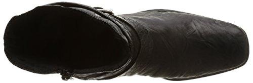 Rieker 74573-00, Damen Stiefel Schwarz (Noir)