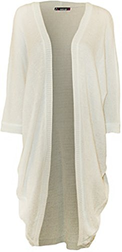 Comfiestyle - Gilet - Cardigan - Manches Longues - Femme Blanc