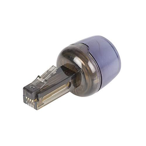 TronicXL Telefon Kabel Entwirrer Antitwist RJ10 Spiralkabel Twist Stop Verdrehschutz -
