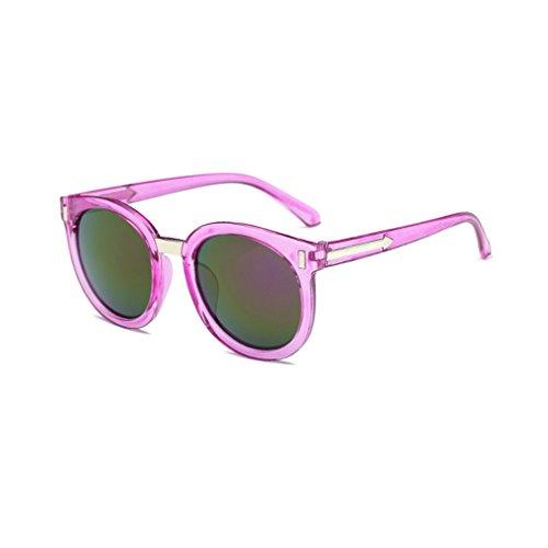 Junecat Klassische Runde Sonnenbrille Frauen PC Rahmen Pfeile Sonnenbrillen UV400 Brillen