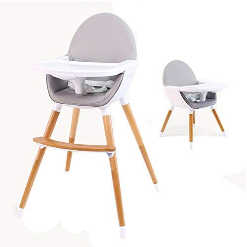 e2bf7f00320da Chaises hautes Convertible pour Bébé De Voyage Portables avec Plateau  Ajustable - Gris