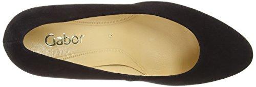 Gabor Shoes Gabor, Escarpins Femme Noir (Black)