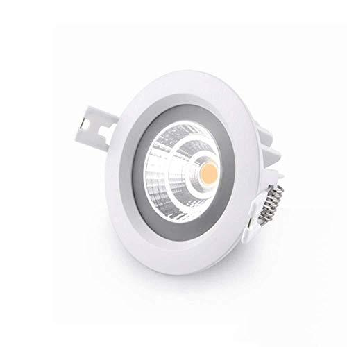 Lámpara de techo empotrable LED para cocina, baño, inodoro, IP65, impermeable, empotrable,...