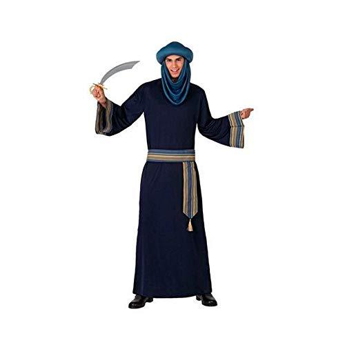 Atosa-63542 Atosa-63542-Disfraz Berebere-Adulto Hombre, Color azul, XL (63542