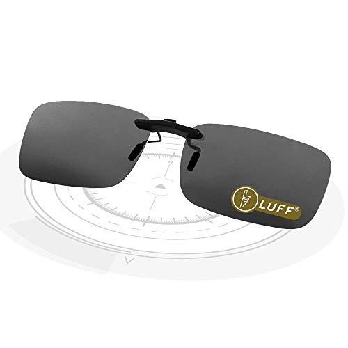 LUFF Polarizado Clip Unisex Gafas Sol Anteojos Recetados-Buen