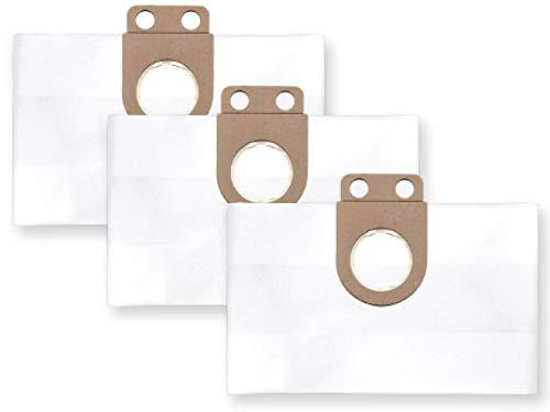3x Vlies Staubbeutel Filtersack für FEINSTAUB/BAUSTAUB 6-lagig für Metabo AS 1200, ASA 1201