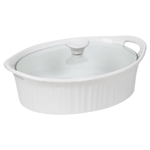 corningware-1105935-french-white-iii-oval-casserole-with-glass-cover-25-quart-by-corningware