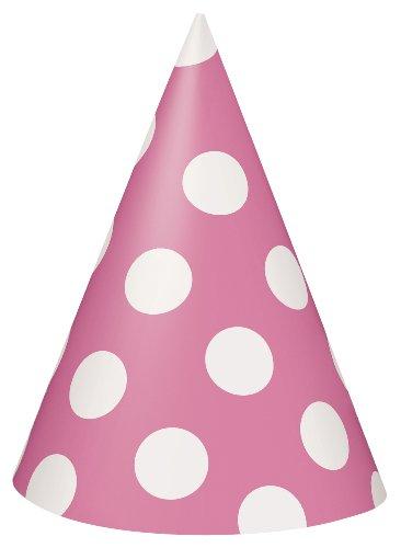 Unique Party Supplies Partyhüte mit Pünktchen, ()