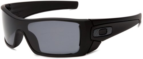 Oakley Herren BATWOLF Sonnenbrille, Schwarz (Negro Mate), 0