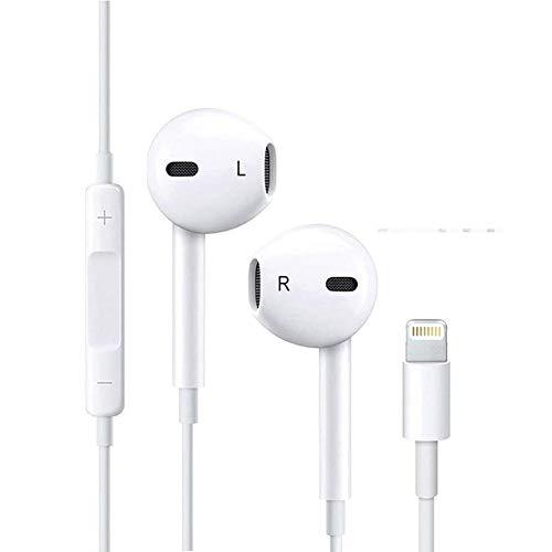 Supnew In-Ear Sport Kopfhörer, Rauschunterdrückung Im Ohr Kopfhörer Ohrhörer mit Klarer Sound und Starker Bass, Inklusive Mikrofon Klinkenbuchse für iPhone 7/7 Plus/ 8/8 Plus/X/XS/XS Max
