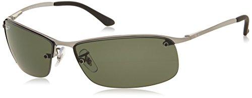 ray-ban-men-mod-3183-sunglasses-gunmetal-gunmetal-size-63