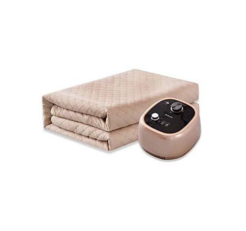 YDYG Haushalts-Heizdecke-intelligente Fernsteuerungsklempnerarbeit-elektrische beheizte Decke stummer Strahlungs-freie Schlafzimmer-Heizungs-Auflage (Design : Manual, Größe : 0.8 * 1.6m) -