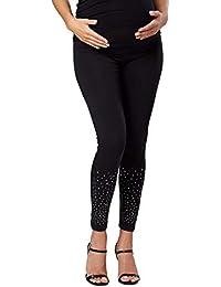 e38ee4032 Zeta Ville Pantalón Leggins Premama Leggings Banda Elastica - para Mujer -  975c