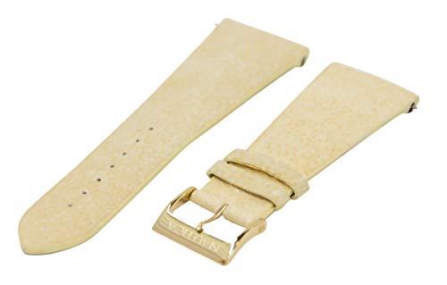 Nautica A17524 Ersatz-Uhrenarmband für Damen, 30 mm, Beige