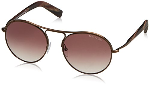 Tom Ford Sonnenbrille FT0449_49T (54 mm) Marrón, 54