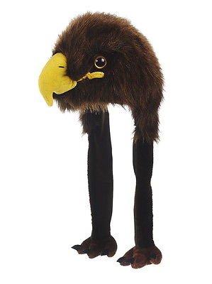Tiermütze Plüsch Mütze Adler Seeadler - Unisize