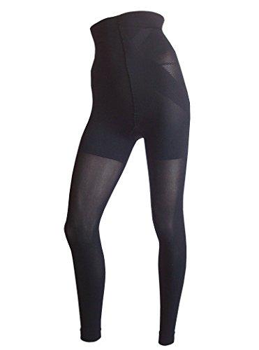 Dr. Rey Shapewear High-Waisted Leggings und Taillenformer schwarz, Gr. XXL, 50/52