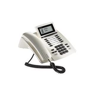 AGFEO System Telephone ST 40 - telephones (White, LCD, Monochrome)