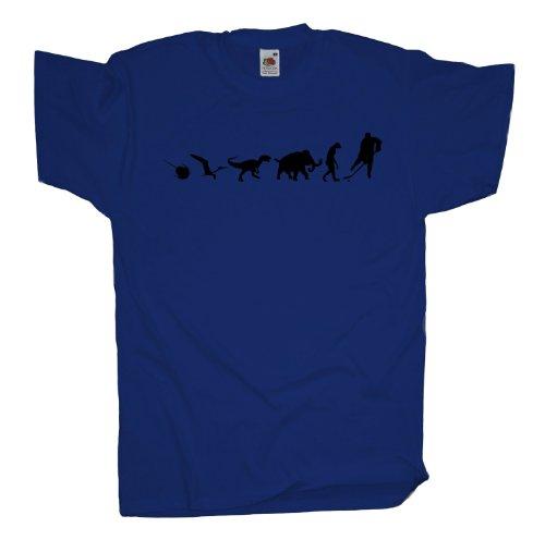 Ma2ca - 500 Mio Years - Hockey Icehockey T-Shirt Royal
