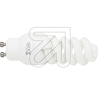 EGB Energiesparlampe Minispirale GU10 7W von berubo auf Lampenhans.de