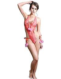 Hokly Mujer Lencería Erótica,Hongtianyuan Lencería Mujer Encaje Atractivo Pasión ...