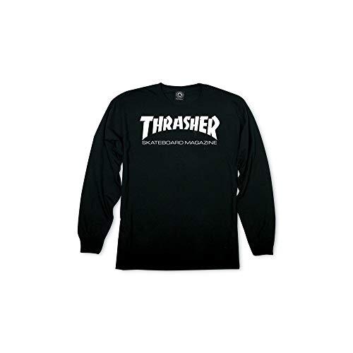 Thrasher - Camiseta de manga larga - Negro - M