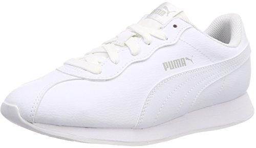 Puma Turin II, Zapatillas de Deporte Unisex Adults'o, Blanco White, 36 EU