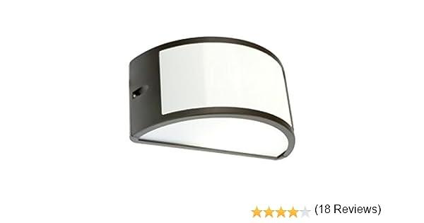 Plafoniera Per Esterno Prezzo : Applique mezzaluna moderna lampada da parete per esterno grigio