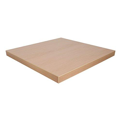 Dekorspanplatte Ellmau Buche Spanplatte als Tischplatte, Schreibtischplatte, Laden- & Möbelbau, Maße: 70 x 50 cm, Stärke: 28 mm