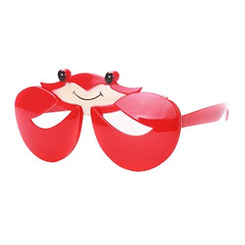 Baby Krabbe Kostüm - P PRETTYIA Erwachsene Kinder Partybrille Spassbrille Karnevalsbrille Halloween Kostüm Requisiten - Krabbe