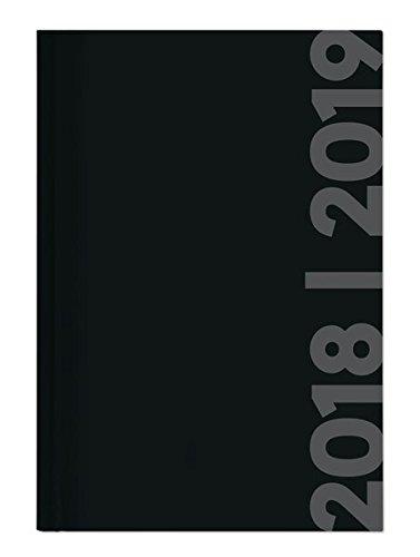"""Diario agenda scuola collegetimer """"Etichetta nera"""" 2018/2019 - Giornaliera - 352 pagine - 10x15 cm"""