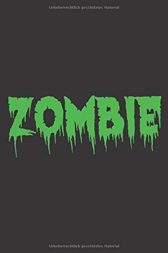 Zombie: Zombie I Halloween I Dotgrid I Notebook I Notizen I Buch I A5
