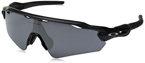 Oakley Herren 0Oo Radar Ev Path (A) 927501 35 Sonnenbrille, Schwarz (Matte Black/Blackiridium),