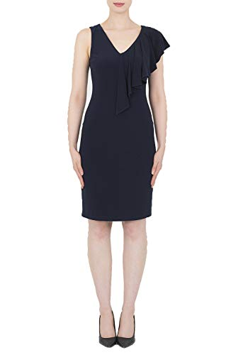 Joseph Ribkoff Midnight Blue Dress Style 182003 14 UK