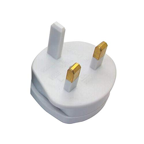 Falliback British Conversion Plug EU to UK Plug Adaptor US to UK Adaptor Plug, 2 to 3 Pin Converter Travel Adaptor Suitable for UK, Hong Kong, Singapore, Malaysia, Middle East Countries Uk Converter