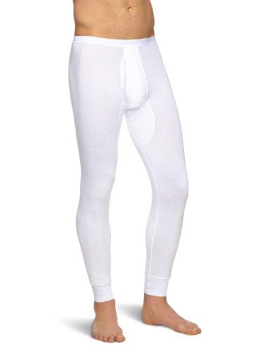 Schiesser Herren Lange Unterhose 005135-100 Weiß (100-weiss) 5 (M)