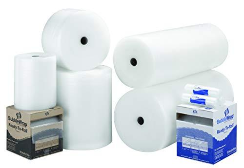 Luftpolsterfolie/Luftpolsterfolie, groß, in allen Größen erhältlich 500MM x 50M Clear, White, Transparent (Breite Kunststoff-wrap Extra)